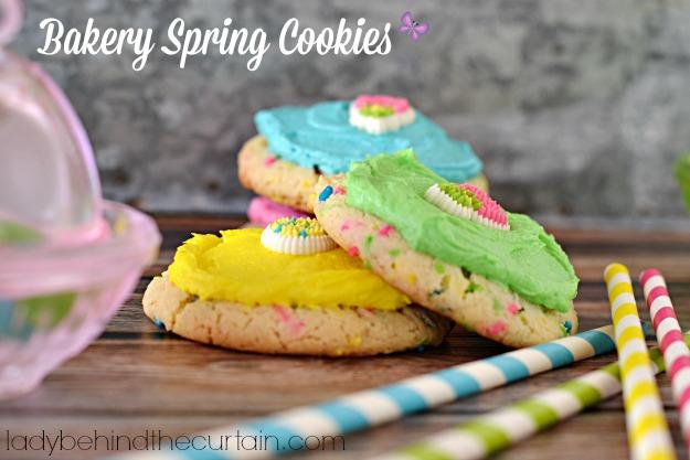 Bakery Spring Cookies