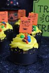 Banana Pecan Trick or Treat Halloween Cupcakes