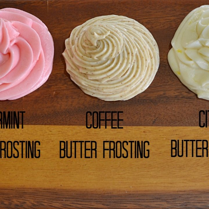 Basic Butter Frosting Five Ways