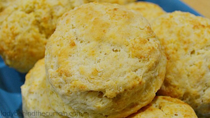 Basic Sour Cream Biscuits