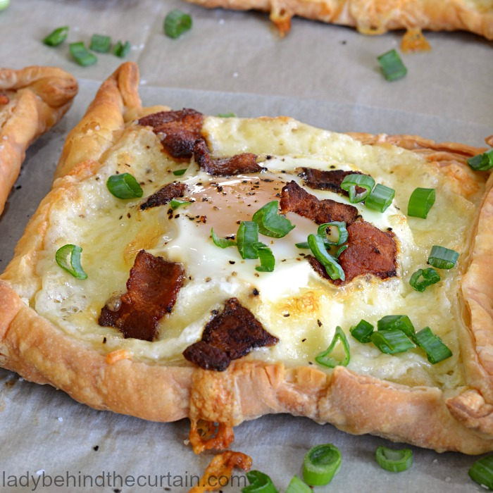 Bird In A Nest Tart