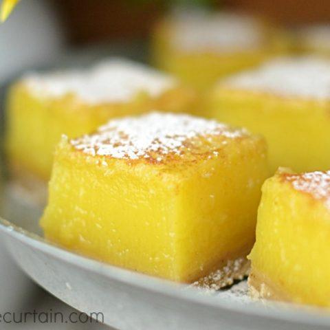 Browned Butter Lemon Bars