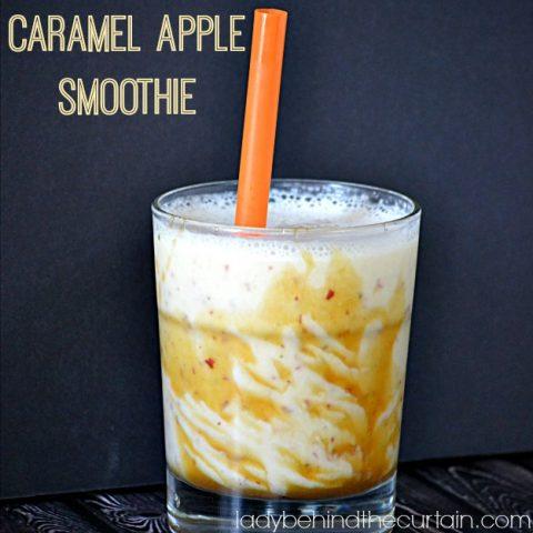 Caramel Apple Smoothie