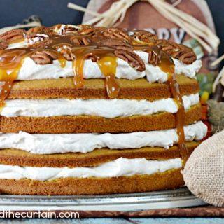Caramel Pumpkin Torte