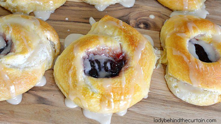 Cheese Danish Rolls
