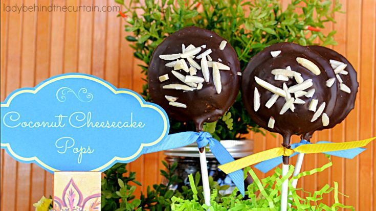 How to Make Coconut Cheesecake Pops