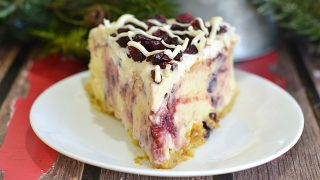 Cranberry Bliss Cheesecake