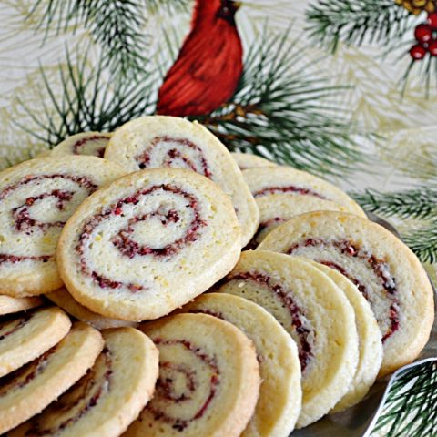 Cranberry Orange Pinwheels