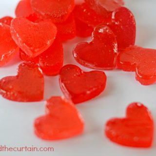 DIY Heart Shaped Candies