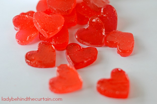 DIY Heart Shaped Candies