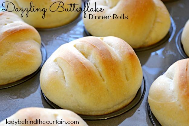 Dazzling Butterflake Dinner Rolls