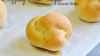 Dazzling Knot Shaped Dinner Rolls