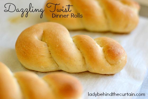 Dazzling Twist Dinner Rolls
