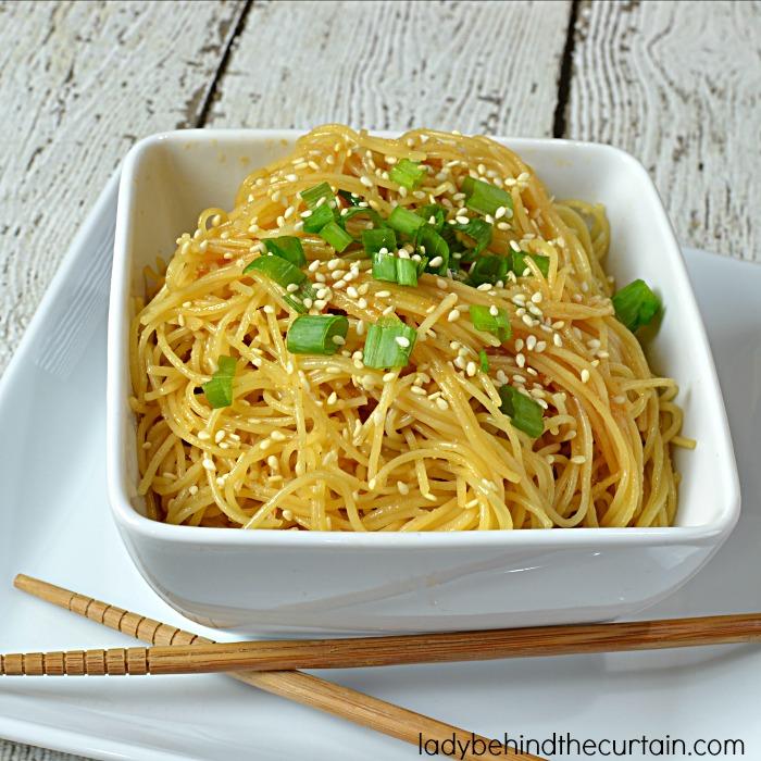 Easy Weeknight Sesame Noodles