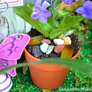 Fairy Garden Dirt Dessert Cups