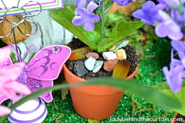 Fairy Garden Dirt Dessert Cups