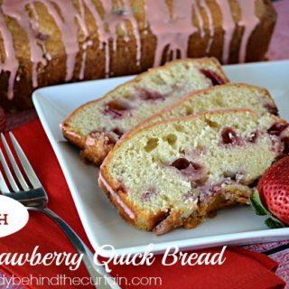 Fresh Strawberry Quick Bread