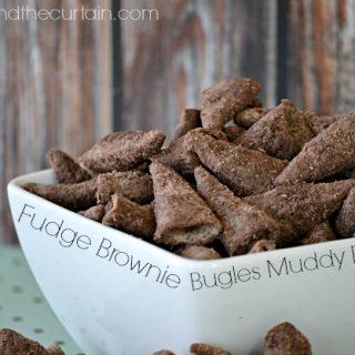 Fudge Brownie Bugles Muddy Buddies