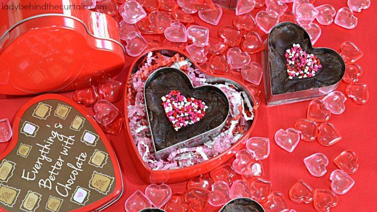 Fudge Filled Hearts