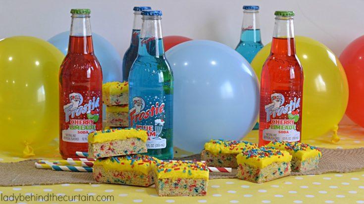 Funfetti Sugar Cookie Bars