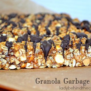 Granola Garbage Sticks