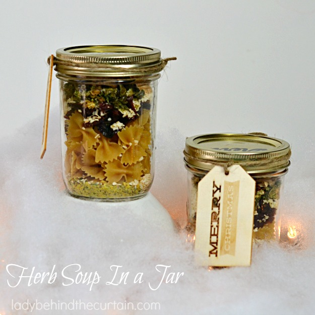 Herb Soup In a Jar