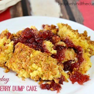 Holiday Cranberry Dump Cake