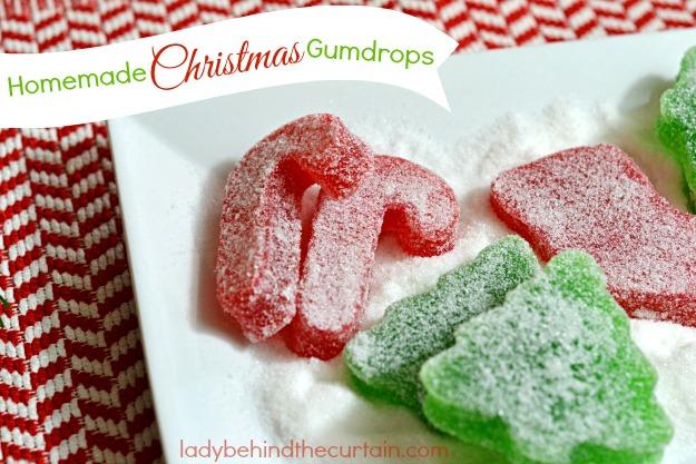 Homemade Christmas Gumdrops