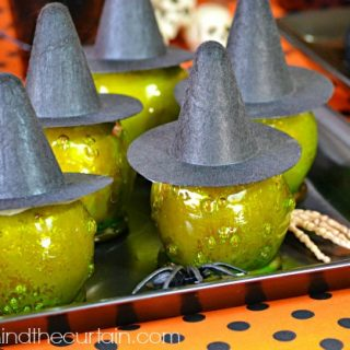 I Put a Spell on You Halloween Cinnamon Candy Apples