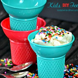 Kids DIY Ice Cream