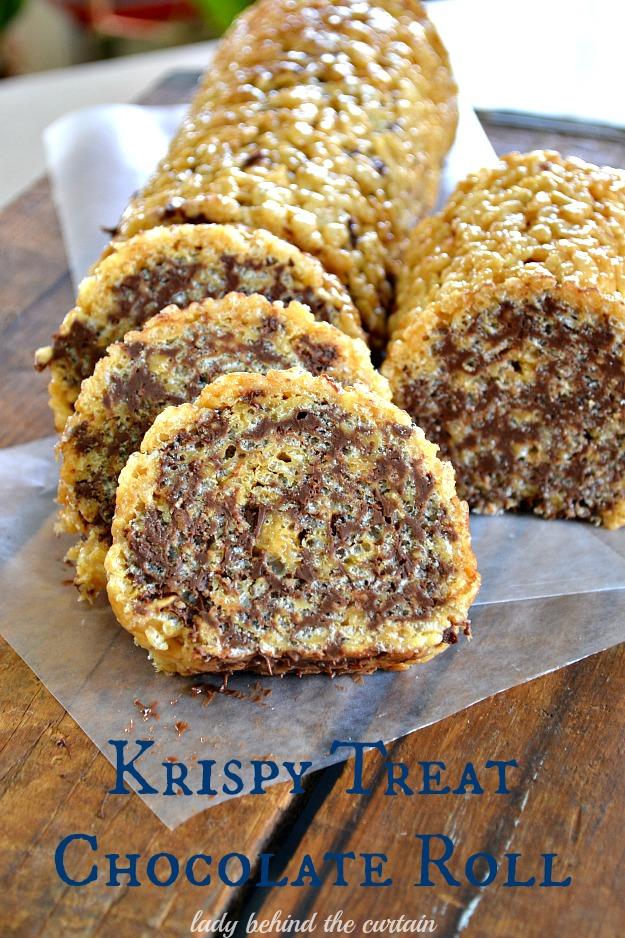 Krispy Treat Chocolate Roll
