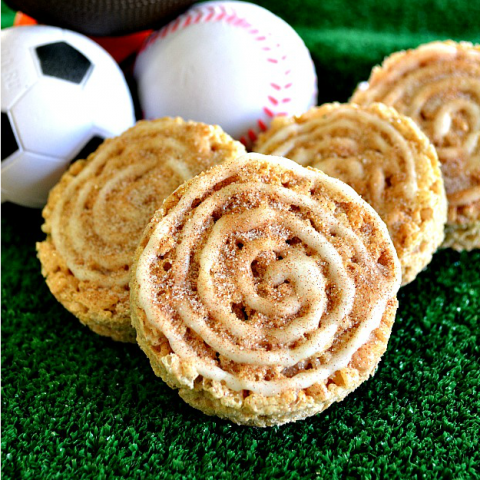 {After the Game} Cinnamon Roll Treats