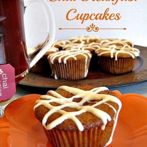 Chai Breakfast Cupcakes