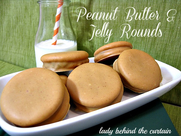 Peanut Butter & Jelly Rounds