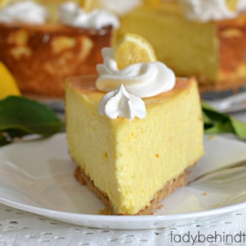 Lemon Pudding Cheesecake