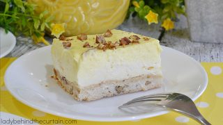 Lemon Triple Layer Bars