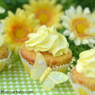 Lemon Truffle Cupcake Surprise