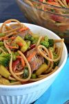 Light Asian Beef Noodle Salad