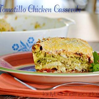 Light Tomatillo Chicken Casserole