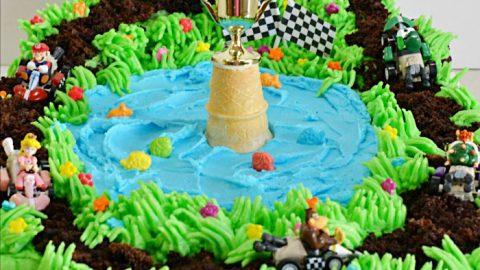 Admirable Mario Kart Cupcake Pull Apart Personalised Birthday Cards Veneteletsinfo
