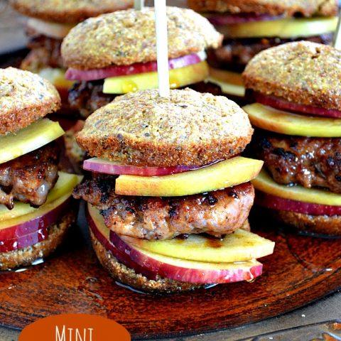 Corn Muffin Sausage Sandwiches