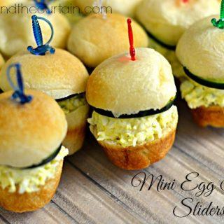 Mini Egg Salad Sliders