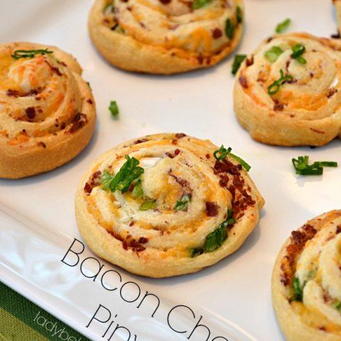 Bacon Cheddar Pinwheels
