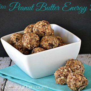 No Bake Peanut Butter Energy Bites
