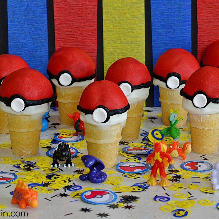 Pokémon Go Cake Pop Party Favor
