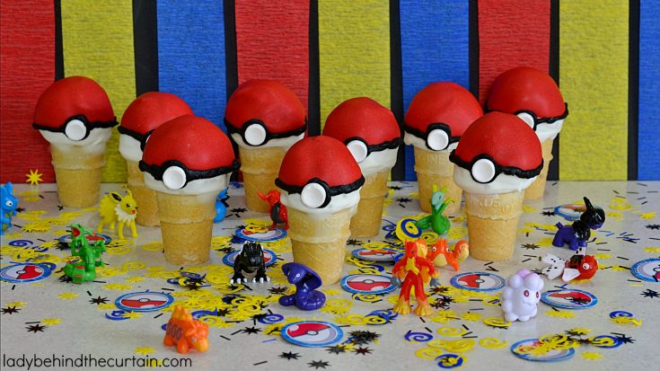 Pokémon Go Cake Pop Party Favor