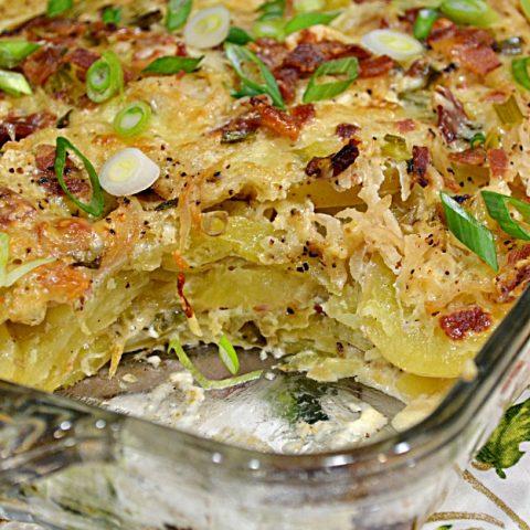 Potato-Apple Casserole