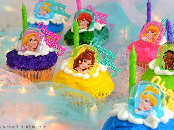 Brilliant Princess Birthday Party Cupcakes Funny Birthday Cards Online Inifodamsfinfo