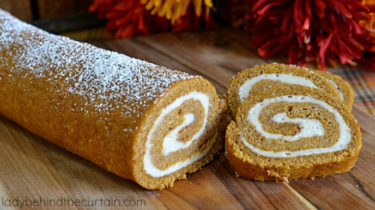 Pumpkin Cake Roll Plus How To Video