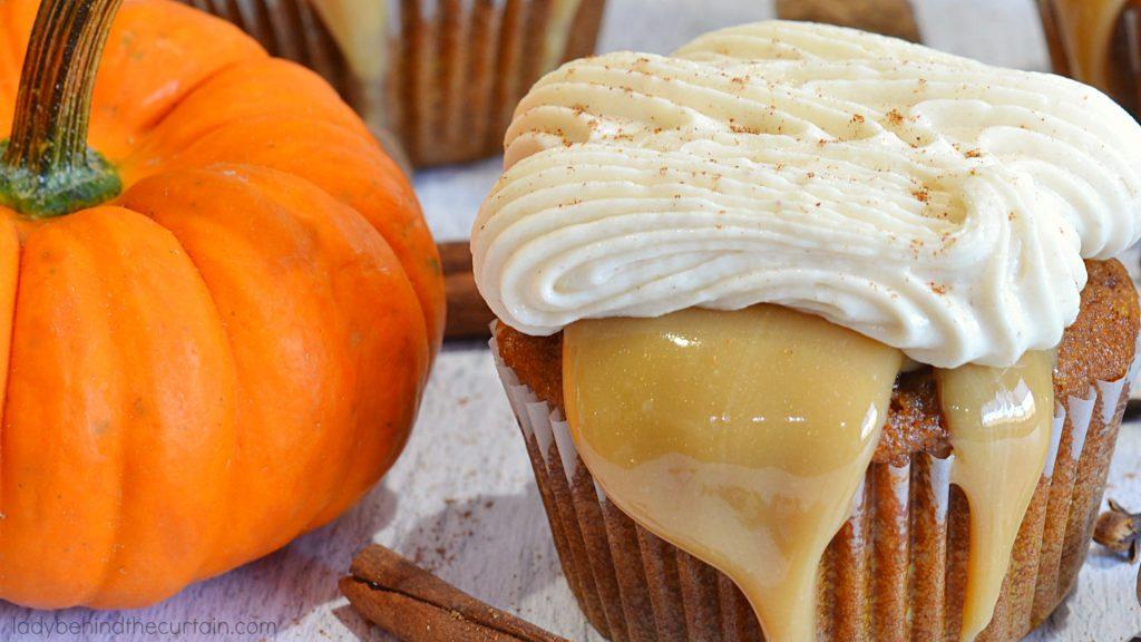 Pumpkin Spice Latte Buttercream Frosting